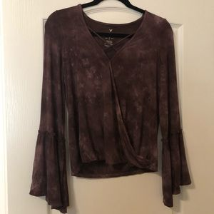 Soft and Sexy American Eagle Bell Sleeve Top